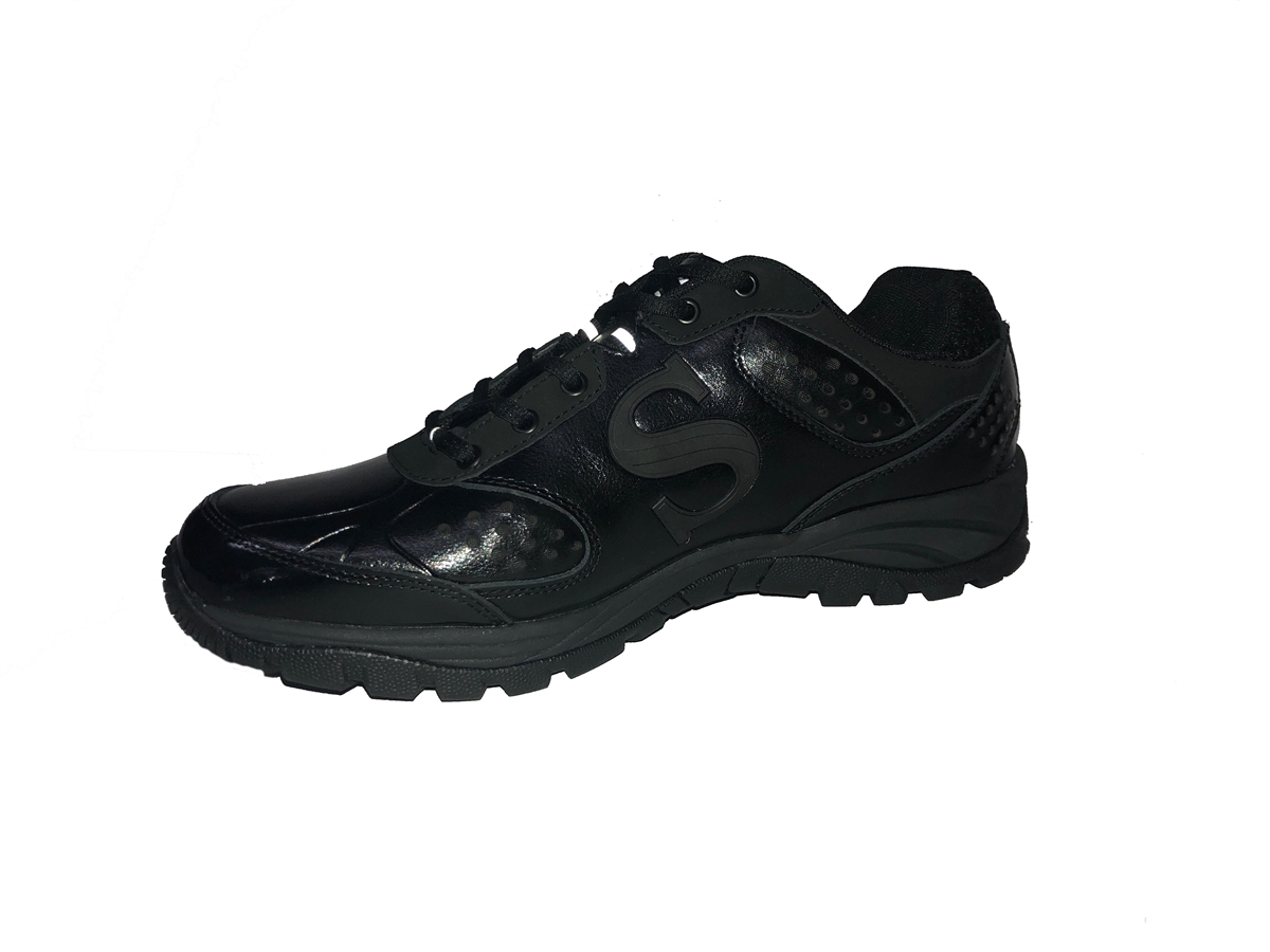 SMITTY ALL-BLACK FIELD SHOES 844ddc5f2