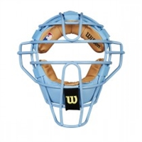 WILSON DYNA-LITE STEEL BLUE UMPIRE MASK