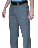WOMEN'S Flat Front Combo Pants Available in Heather Grey Only