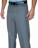 Flat Front Plate Pants with Western Cut Front Pockets Available in Heather Grey Only