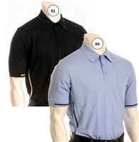 Smitty Short-Sleeve Pro-Style Umpire Shirt with AU Logo