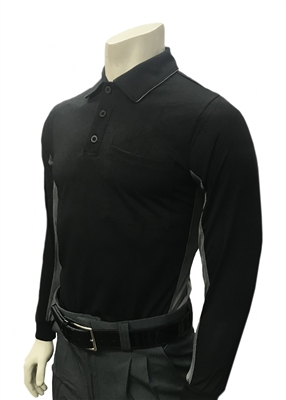 "Smitty ""Major League"" Style Long Sleeve ""Body Flex"" Umpire Shirt"