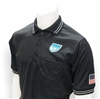 Smitty Black FHSAA Dye Sublimated Baseball Short-Sleeve Umpire Shirt