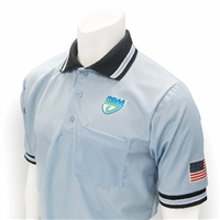 Smitty Carolina Blue FHSAA Embroidered Baseball Short-Sleeve Umpire Shirt