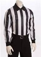 "Smitty 2"" Stripe Elite Performance Heavyweight Long-Sleeve Referee Shirt"