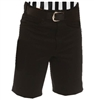 "SMITTY SOLID BLACK SHORTS - WESTERN STYLE POCKETS - 9"" INSEAM"