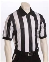 "Smitty Elite Performance Short Sleeve Referee Shirt with 2"" Stripe"