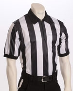 "SMITTY 2"" STRIPE SHORT-SLEEVE MESH REFEREE SHIRT"