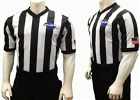 "GHSA Dye Sublimated 2"" V-Neck Referee Shirt"