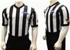 "GHSA Dye Sublimated 2"" V-Neck Body Flex Referee Shirt"