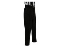 Full-Cut Solid Black All Weather Lacrosse Pants