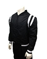 Smitty Black Collegiate Referee Jacket