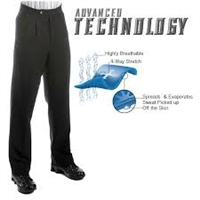 Smitty Premium 4-Way Stretch Athletic Pleated Pants