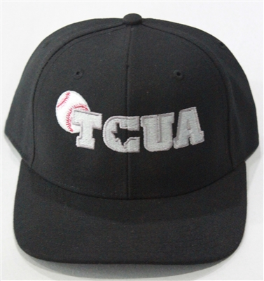 Richardson Fitted Hat with TCUA Logo - Black