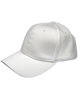 Smitty Flex Fit Solid White Referee Hat