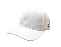 Smitty Performance Flex Fit Solid White Referee Hat