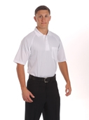 Smitty White Volleyball Shirt with Pocket