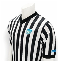 "FHSAA Wrestling Dye Sublimated 1"" V-Neck Referee Shirt"
