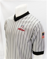 AHSAA Smitty Gray w/Black Pinstripes V-Neck