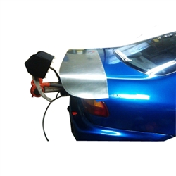 92-95 Civic Coupe Aluminum Drag Wing