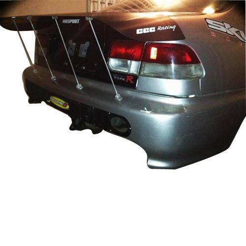 Civic Coupe Carbon Wrap