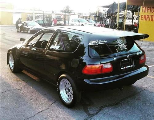 Wholesale Car Parts >> EG Hatch Carbon Fiber OUTLAW Drag Wing