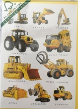 Construction Vehicle Card