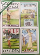 Golf Birthday Card Sold In 6's