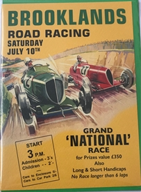 Brooklands Road Racing Card