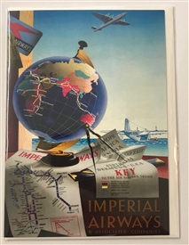Imperial Airways Card
