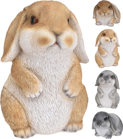 Long Eared Bunny Ornament 4 Assorted