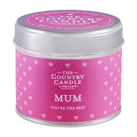 Candle in Tin - Mum