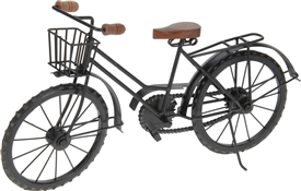 Black Bicycle Ornament
