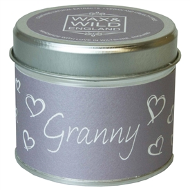 Wax & Wild Candle in Tin - Granny