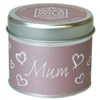 Wax & Wild Candle in Tin - Mum