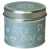 Wax & Wild Candle in Tin - It's a Boy