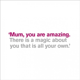 Mum There Is Greeting Card 16cm