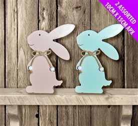 Pastel Coloured Baby Bunnies 2 Assorted