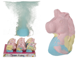 Unicorn Head Bath Bomb SOLD in 12's
