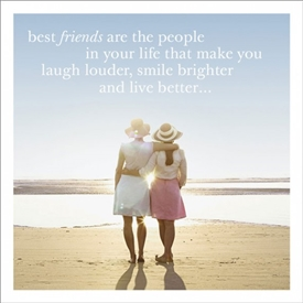 Best Friends Card 16cm
