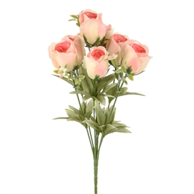Bunch Of Pink Roses  35cm
