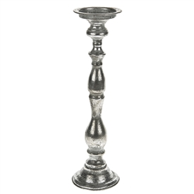 Marrakech Silver Candle Holder 43cm