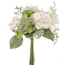 Pearl Wedding Ivory Bouquet 25cm