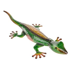 Green Kirbi The Lizard Wall Art 55cm