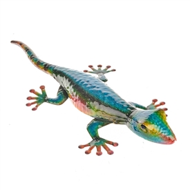 Blue Kobi The Lizard Wall Art 55cm