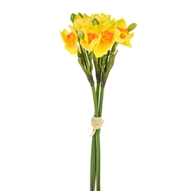 Daffodil Bundle Of Flowers 33cm