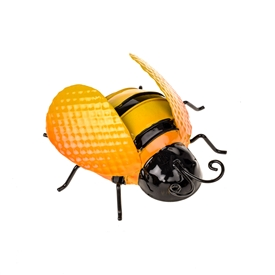 DUE JAN Medium Metal Bee Wall Decoration