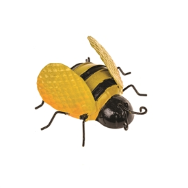 DUE JAN Small Metal Bee Wall Decoration