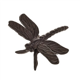 Cast Iron Dragonfly Wall Decoration