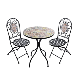 Mediterranean Table And Chair Set